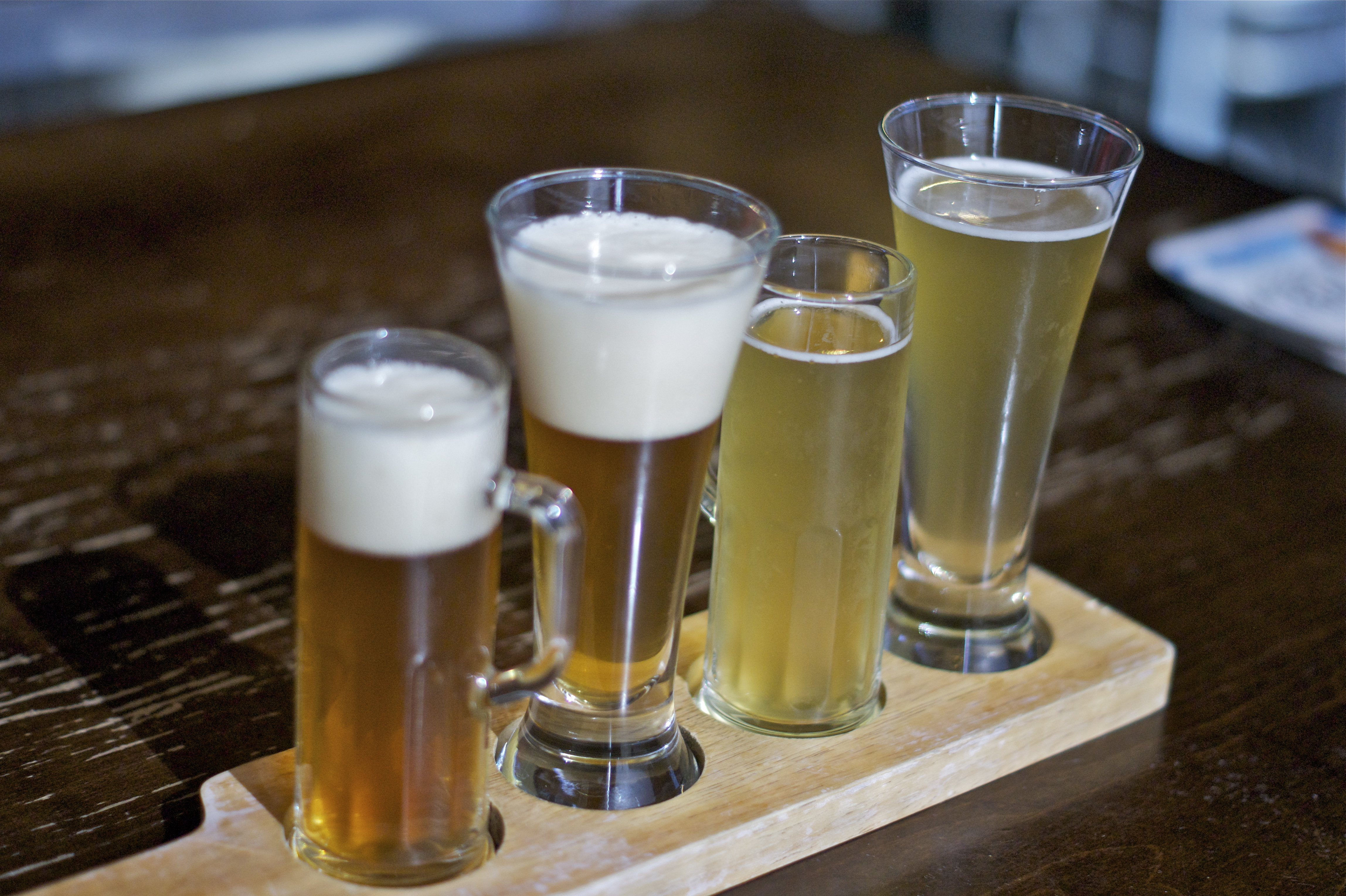 Gordon Street Tavern Flight of Beers