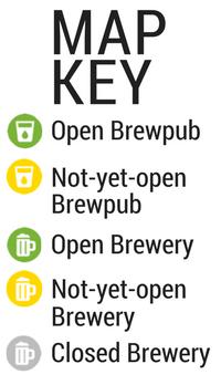 Houston Breweries & Brewpubs Map | Houston Beer Guide