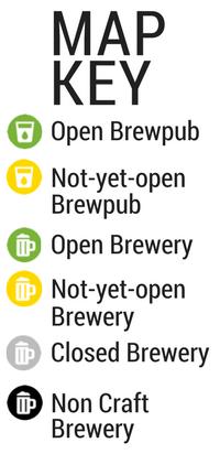 Houston Breweries  Brewpubs Map  Houston Beer Guide