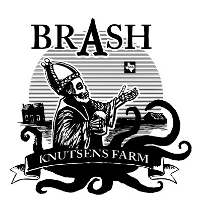 Brash Saint Arnold Tribute Beer - Knutsens Farm