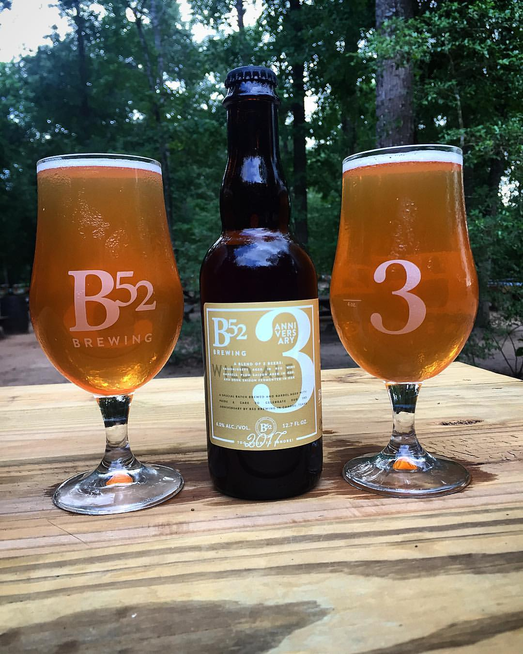 B52 Brewing   3 Year Anniversary Blend Wild Ale