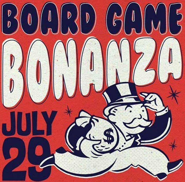 Flying Saucer Board Game Bonanza - July 29th