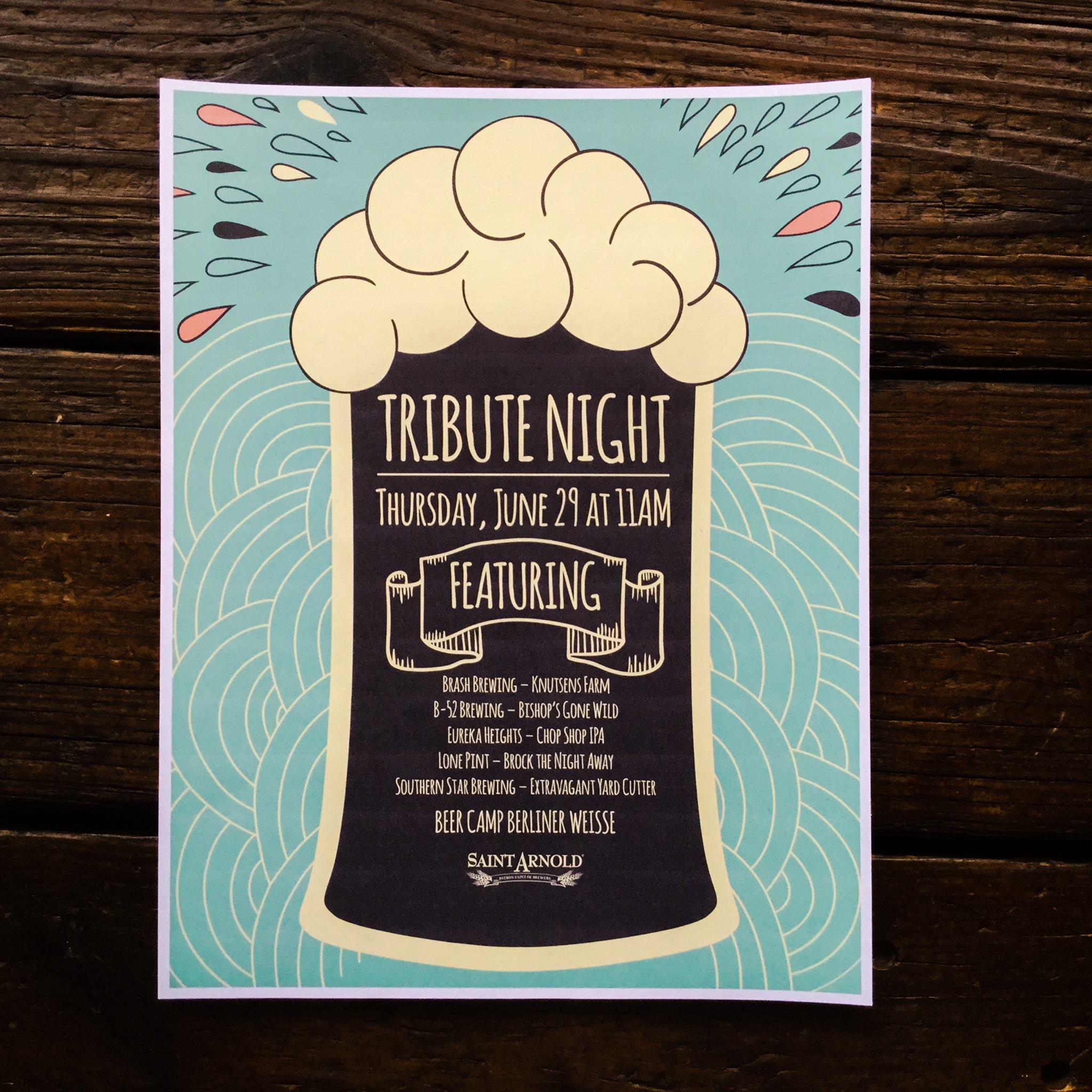 Premium Draught | Saint Arnold Tribute Night