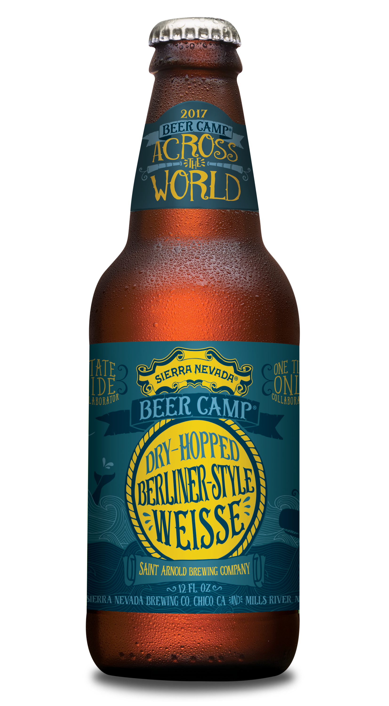 St Arnold Beer Camp Bottle