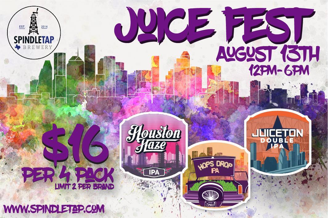 SpindleTap Juice Fest - August 13th