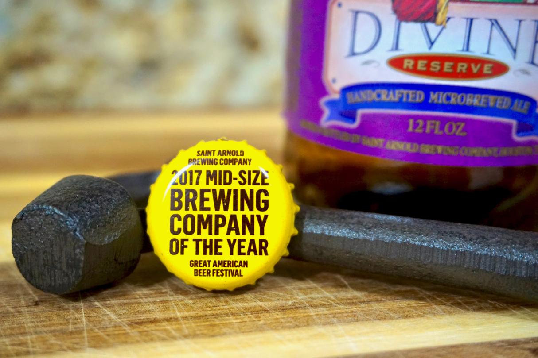 Houston Craft Beer Review Saint Arnold Bottle Cap