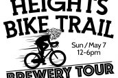 Heights Bike Trail Brewery Tour – Sunday May 7th