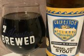 Beer Review: 2021 Samson In A Barrel from Galveston Island Brewing