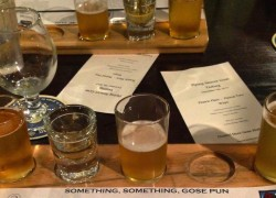 Flying Saucer's Gose Tasting