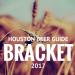 Houston Beer Guide Bracket 2017