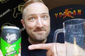 Video Beer Review: Fluffy Nuts PB+ Marshmallow Imperial Cream Ale – Saloon Door Brewing