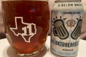 Beer Review: 11 Below Brewing Oktoberfest