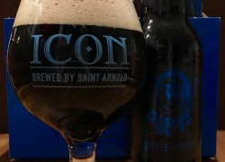 Saint Arnold Icon Blue Coffee Porter Review